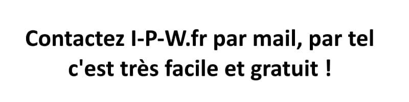 Contactez-I-P-W.fr par tel ou par mail